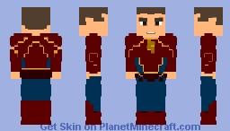 Jay Garrick   The Flash Earth-3 Suit - CW Minecraft Skin