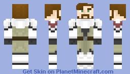 Jedi Commander (Male) Minecraft Skin