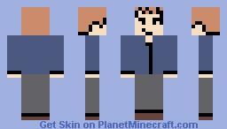 Jeff Winger -- Community S03E20 Minecraft Skin