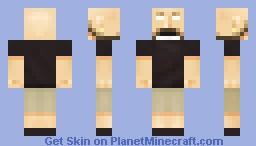 Jens Kidman (Meshuggah) Minecraft Skin