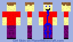 Jerk mob for my upcoming mod Minecraft Skin