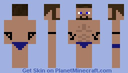 Down by the shore! Minecraft Skin