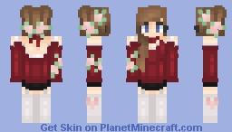 -+𝓥𝓪𝓵𝓮𝓷𝓽𝓲𝓷𝓮𝓼 𝓓𝓪𝔂 𝓡𝓸𝓼𝓮𝓼+- Minecraft Skin