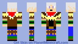wild arms 3 jet (crappy) Minecraft Skin