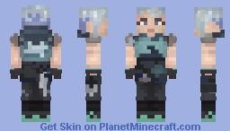 Jett - Valorant Minecraft Skin