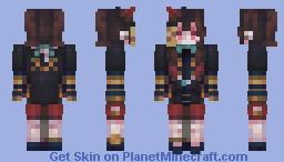 Jiangshi // Cute Kinda Collab Minecraft Skin