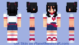 Baek Ji-heon from Fromis_9 Minecraft Skin