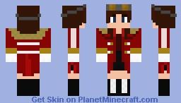 Jillian Robotnik Minecraft Skin
