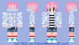 Jimin - Spring Day Minecraft Skin