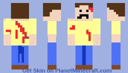 Hurt Jimmy Minecraft Skin