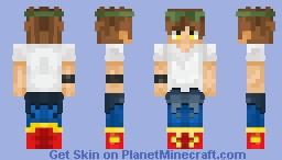 Jin Mo-Ri (God of Highschool) Minecraft Skin
