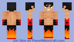 Jin Kazama (Tekken) Minecraft Skin