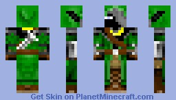hunter of dark wood Minecraft Skin
