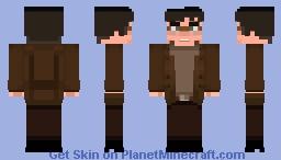 The Beatles - John Lennon Tribute Skin Minecraft Skin