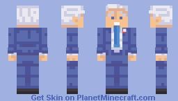 Joe Biden Minecraft Skin