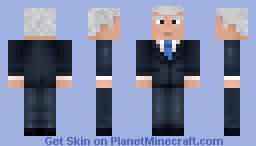Joe Biden Minecraft Skin