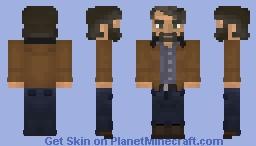 Joel Miller (Jackson) | The Last of Us Part II Minecraft Skin