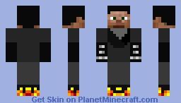 Johhny Blaze Minecraft Skin