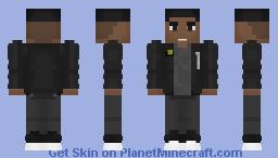John Stewart - Green Lantern Minecraft Skin