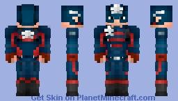 Captain America | John Walker - FaWS Minecraft Skin