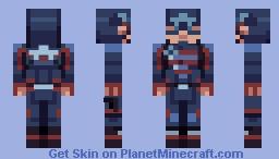US Agent: John Walker Minecraft Skin