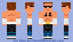 Johnny Cage Minecraft Skin