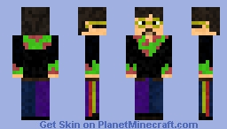 John Lennon(yellow submarine) Minecraft Skin
