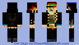 Jotaro Kujo (Glitched Edition) Minecraft Skin