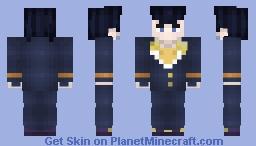 {Future Pack!}Jojo Bizzares Adventure Part 4:Josuke Higashikata Minecraft Skin