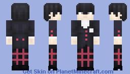 Ren Amamiya Minecraft Skin