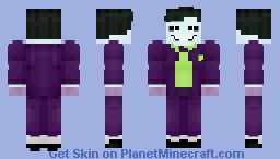 The Joker (TNBA) Minecraft Skin