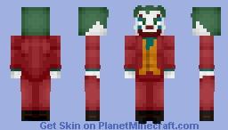 Joker (JOKER 2019) Minecraft Skin