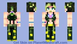 JOLYNE ☆ CUJOH 「ジョジョの奇妙な冒険 ストーンオーシャン」 Minecraft Skin