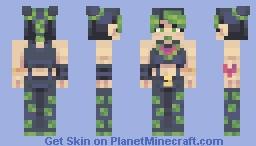 ৲、jolyne kujo, 空条 徐倫【ジョジョ6】 Minecraft Skin