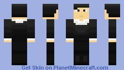 Jose Rizal Minecraft Skin