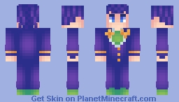 Higashikata Josuke Minecraft Skin