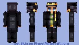 Jotaro Kujo SDC (JJBA) Minecraft Skin