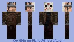 Jason Voorhees(dirtyVersion) Minecraft Skin