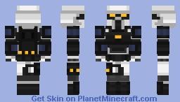 Borderlands 3 - Judge Hightower Minecraft Skin