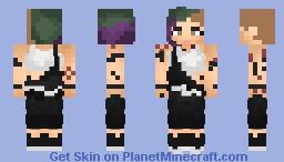 Judy Alvarez | Cyberpunk 2077 Minecraft Skin