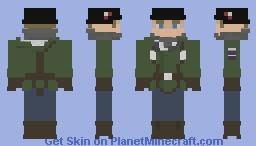 Juergen Waldmann 2.0 Minecraft Skin