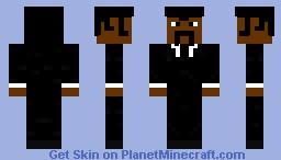 Jules Winnfield Minecraft Skin