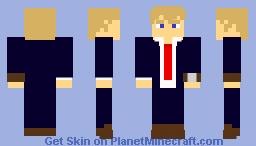 Agent Jones (Default) Minecraft Skin