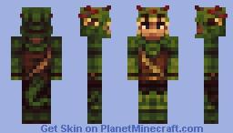 𝙅𝙪𝙣𝙜𝙡𝙚 𝘼𝙧𝙢𝙤𝙧 𝙍𝙚𝙢𝙖𝙠𝙚 𝙛𝙧𝙤𝙢 𝙏𝙚𝙧𝙧𝙖𝙧𝙞𝙖 Minecraft Skin
