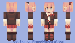 junko enoshima 江ノ島 盾子 Minecraft Skin