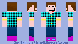 Juraph (Brighter Flannel!) Minecraft Skin