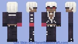 K' Minecraft Skin