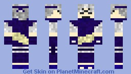 Kabuto Yakushi Minecraft Skin - Skins para minecraft orochimaru