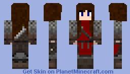 Female gaurd Minecraft Skin
