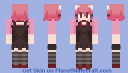 Lucy (Kaeda) ~ Elfen Lied Minecraft Skin